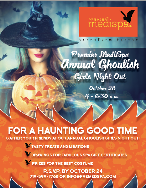 ghoulish girls night out - Premier Medispa